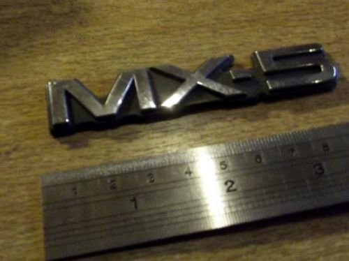 Badge, Mazda MX-5 mk1, Rear, 'MX-5', NA1351721, USED